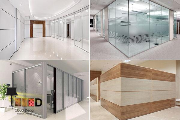 1000decor Office Partition Prices 1 بهترین قیمت پارتیشن اداری را از ما بخواهید