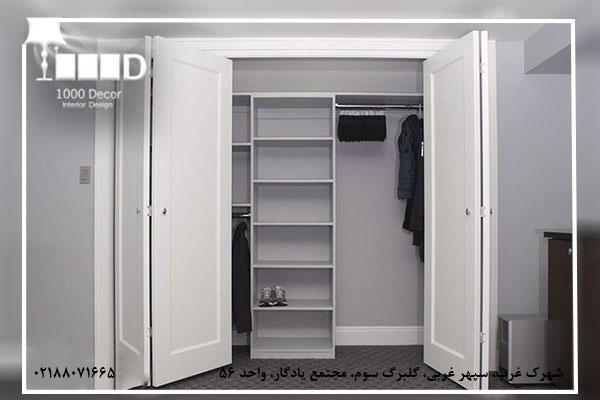 1000decor Wardrobe Moderator No 03 فاکتور های بهترین مجری کمد دیواری برای منزل