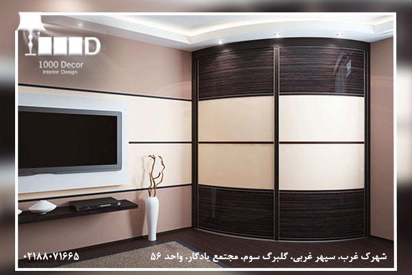 1000decor Wardrobe Moderator No 04 فاکتور های بهترین مجری کمد دیواری برای منزل