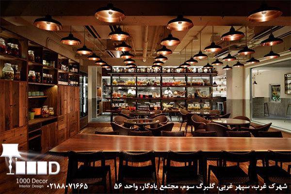 مجموعه 1000 دکور - دکوراسیون کافه و رستوران – بنر