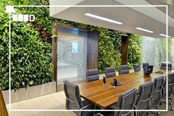 1000decor Flowers and plants in office decoration 2 اجرای دکوراسیون اداری ، تحولی در محل کار شما