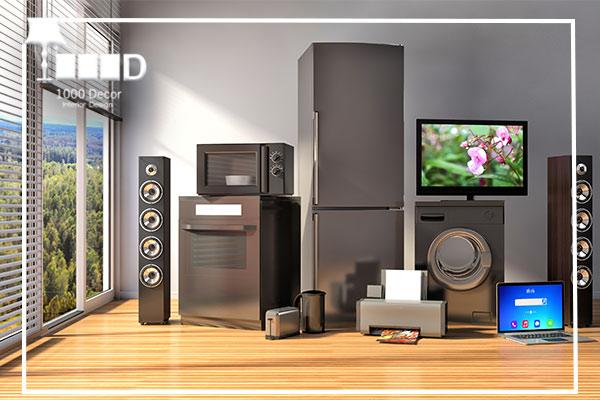 1000decor Home Appliances 5 تحول در فضای داخلی منزل با دکور لوازم خانگی