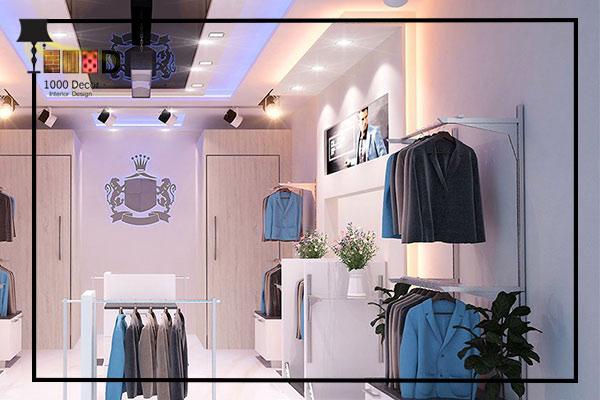 1000decor Mens boutique decor 2 دکور بوتیک مردانه