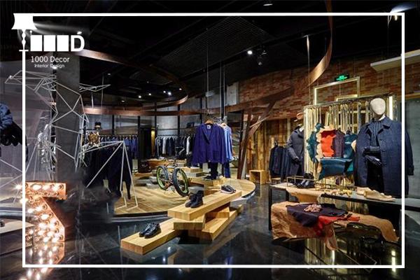 1000decor Mens boutique decor 7 دکور بوتیک مردانه