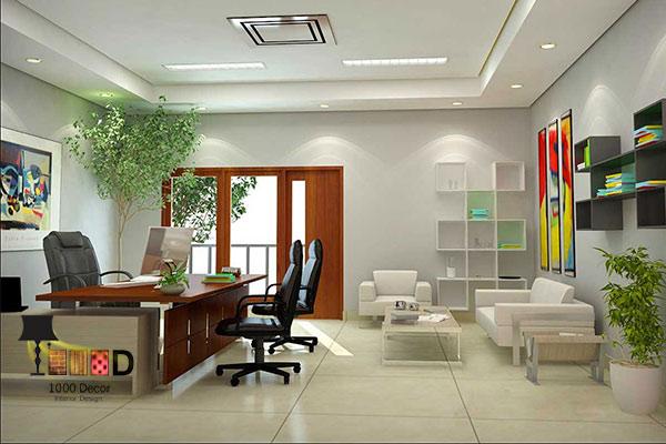 1000decor Office decoration 02 اجرای دکوراسیون اداری ، تحولی در محل کار شما
