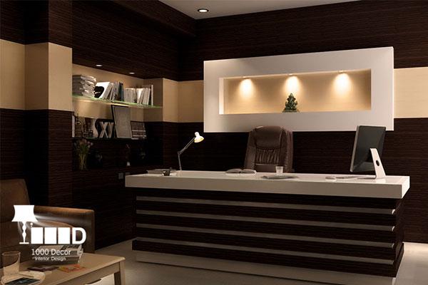 1000decor Office decoration 03 اجرای دکوراسیون اداری ، تحولی در محل کار شما