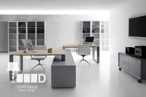 1000decor Office decoration gallery 08 300x200 اجرای دکوراسیون اداری ، تحولی در محل کار شما
