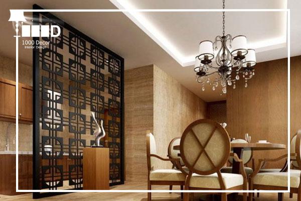 1000decor Partitioning in home decor 2 انواع دکور و سبک های شیک دکوراسیون