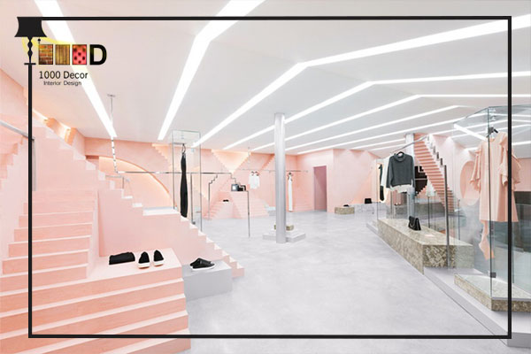 1000decor Womens boutique decor 2 دکور بوتیک زنانه جذاب و شیک