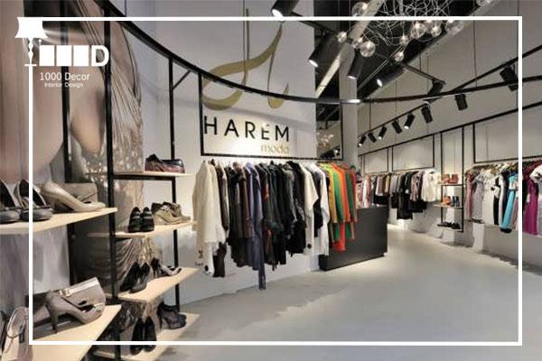 1000decor Womens boutique decor 5 دکور بوتیک زنانه جذاب و شیک