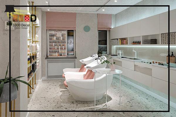 1000decor 2 بهترین چیدمان دکور آرایشگاه زنانه ( 2019   1000 دکور )