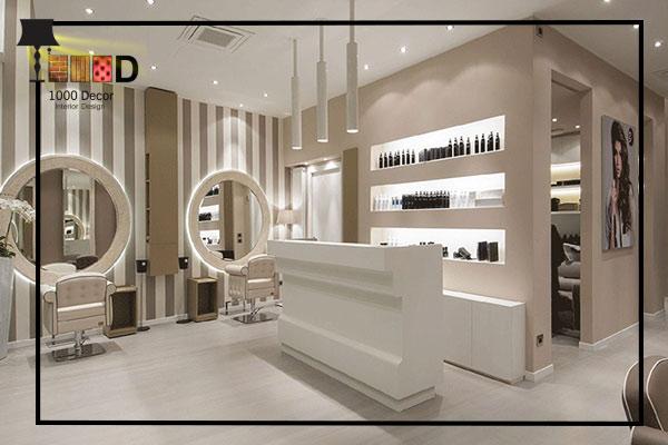 1000decor 4 بهترین چیدمان دکور آرایشگاه زنانه ( 2019   1000 دکور )