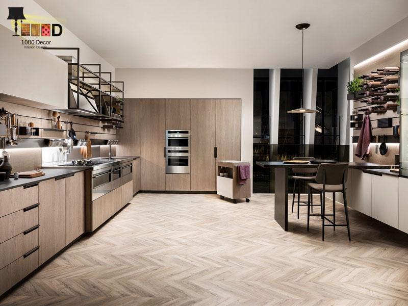 1000decor Decoration design Design of kitchen decoration 10 طراحی دکوراسیون آشپزخانه (10 مدل شیک و لاکچری)