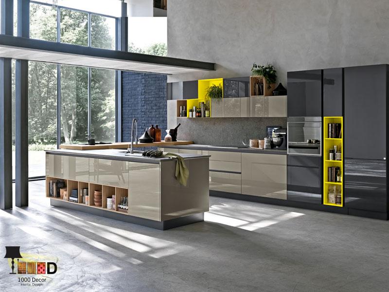 1000decor Decoration design Design of kitchen decoration 2 طراحی دکوراسیون آشپزخانه (10 مدل شیک و لاکچری)