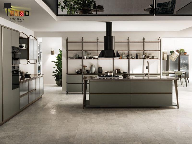 1000decor Decoration design Design of kitchen decoration 6 طراحی دکوراسیون آشپزخانه (10 مدل شیک و لاکچری)