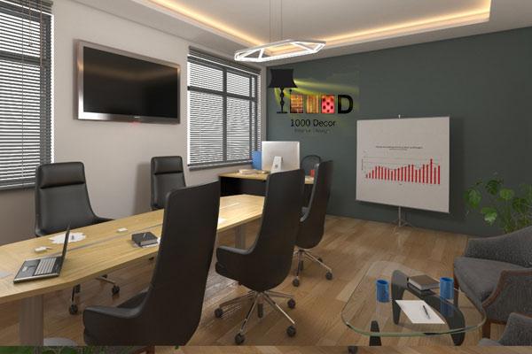 21 اجرای دکوراسیون اداری ، تحولی در محل کار شما