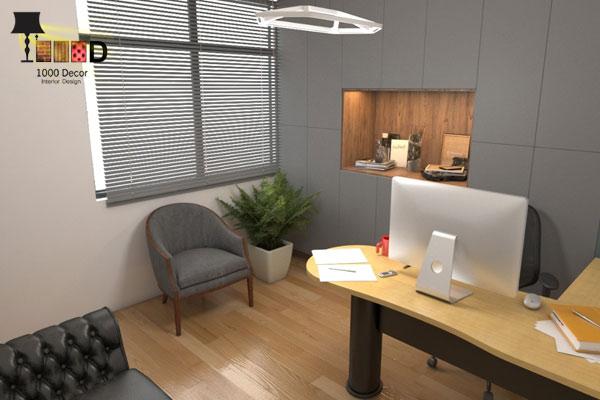 23 اجرای دکوراسیون اداری ، تحولی در محل کار شما
