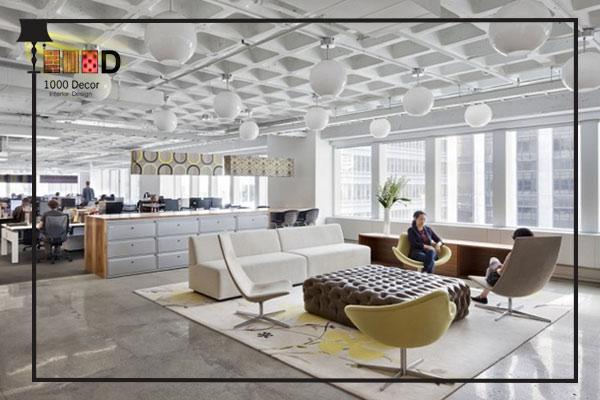 1000decor .Sofa arrangement in office decorationjpg اجرای دکوراسیون اداری ، تحولی در محل کار شما