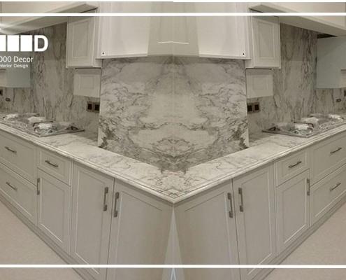 1000decor Kitchen cabinet decoration h3 495x400 پروژه کابینت تمام چوب رنگ پلی اورتان