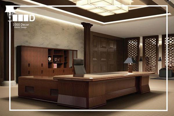 1000decor Modern office decoration 2 اجرای دکوراسیون اداری ، تحولی در محل کار شما