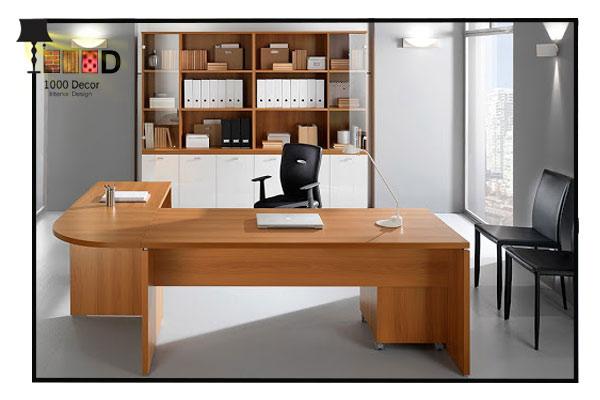 1000decor Modern office decoration 7 اجرای دکوراسیون اداری ، تحولی در محل کار شما