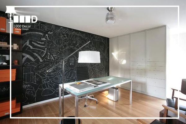 1000decor Wall paint and wallpaper in office decoration 1 اجرای دکوراسیون اداری ، تحولی در محل کار شما