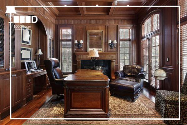 1000decor Classic interpretive style in office decoration اجرای دکوراسیون اداری ، تحولی در محل کار شما