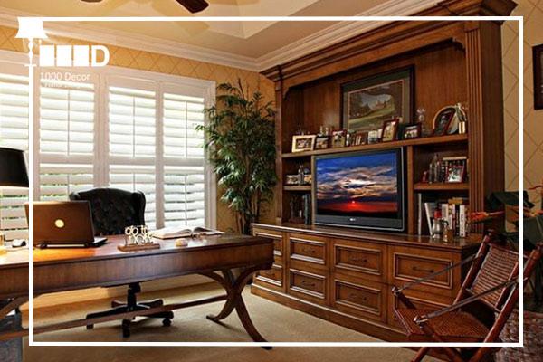 1000decor Classic style of office decoration Office decoration اجرای دکوراسیون اداری ، تحولی در محل کار شما